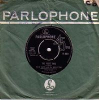 Adam Faith with The Roulettes - The First Time/So Long Baby (R 5061)